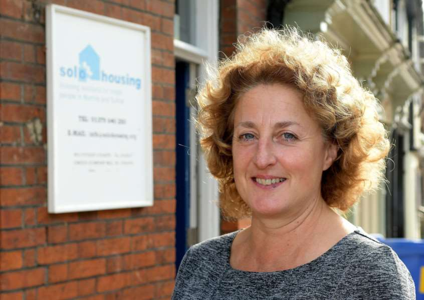 Diss, Norfolk. UKSOLO Housing CEO, Carolyn Howell. Picture: MARK BULLIMORE