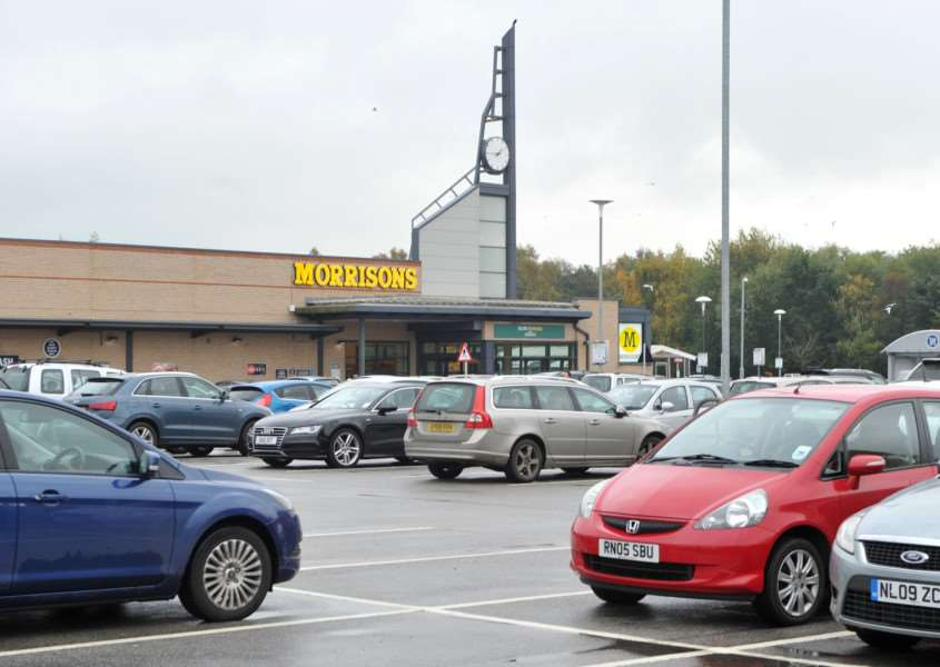 Parking in Diss - Morrisons