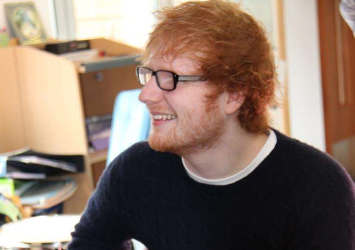 An auction of clothes worn by Framlingham singer-songwriter Ed Sheeran has raised more than ?6,300 for East Anglia's Children's Hospices (EACH). ANL-140414-164800001