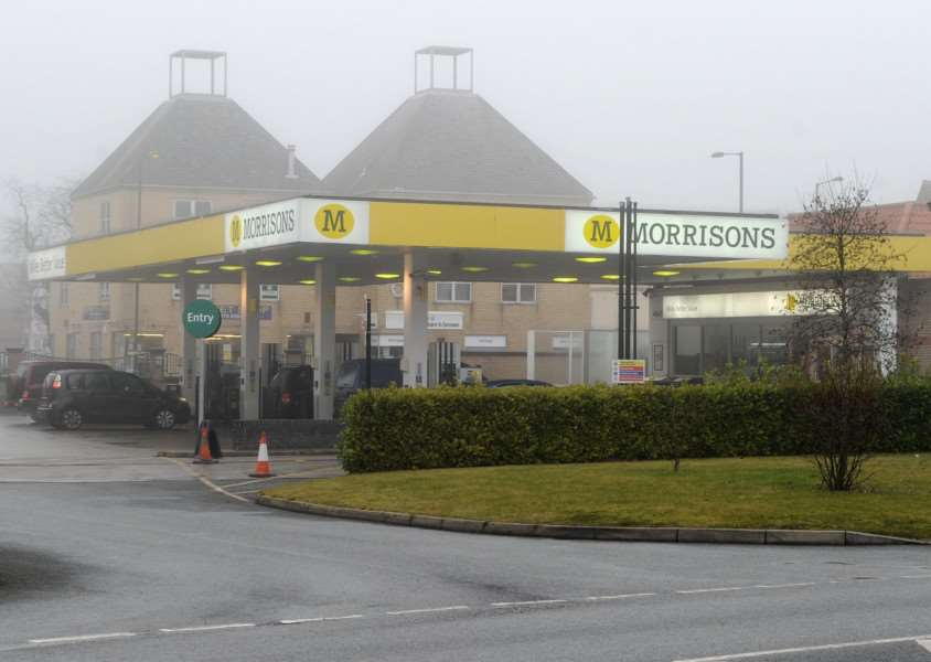 Morrisons Petrol Station in Diss