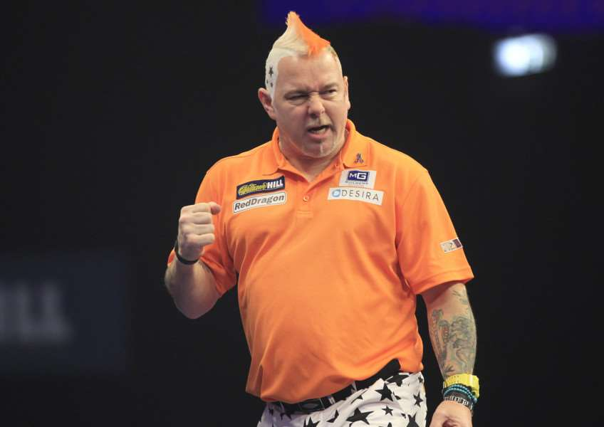 LACKING BITE: Mendham's Peter Wright was eliminated from the PDC World Championships following a 5-1 quarter-final defeat to Gary Anderson