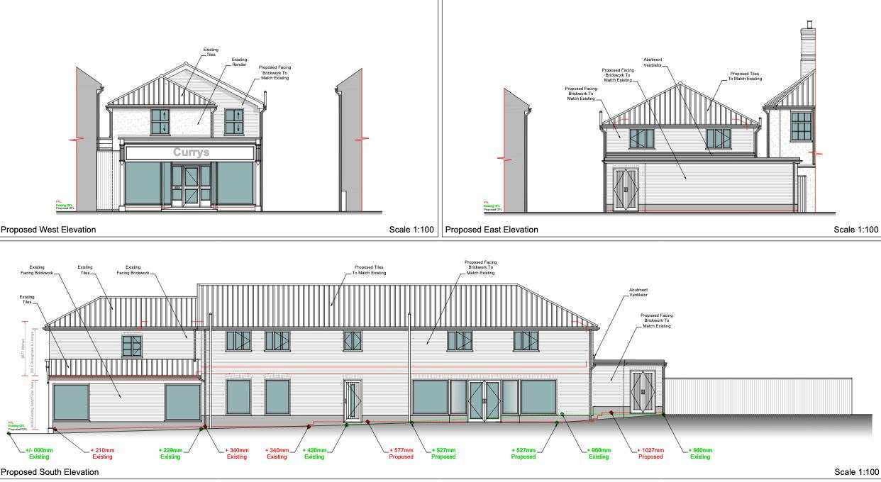 Extension plans. Imagine: Keith Day Architects