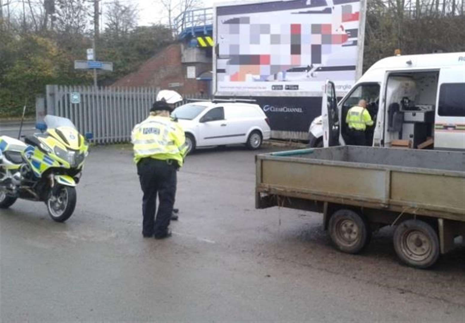 Roadside checks reveal string offences on roads around Diss