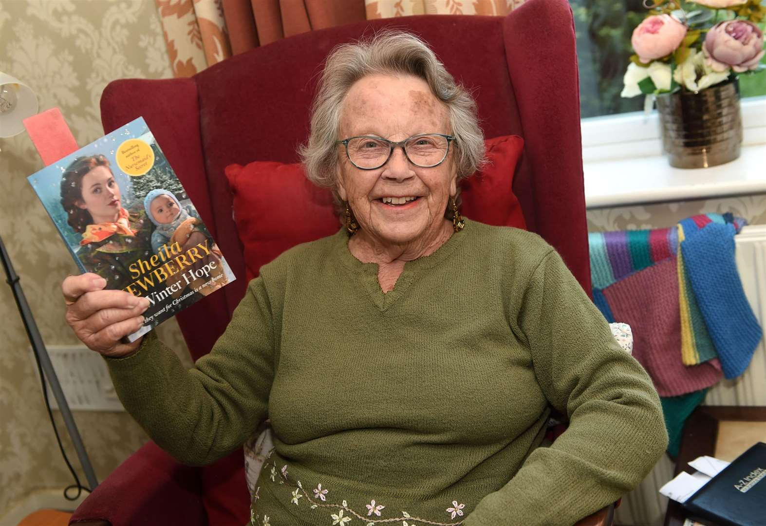 Former Diss Express reporter inspires book character