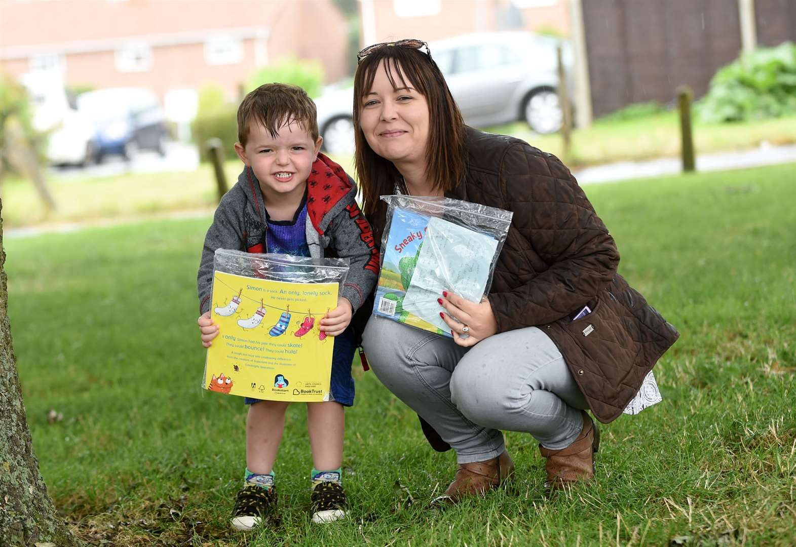 Mum launches treasure hunt to inspire book fans