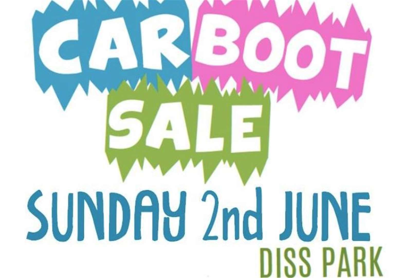 Anger as Diss carnival car boot sale posters ripped down