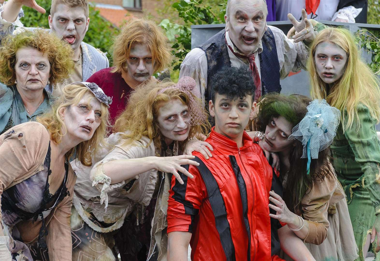 Colourful creations and ghoulish characters on show at the Pulham Market Carnival
