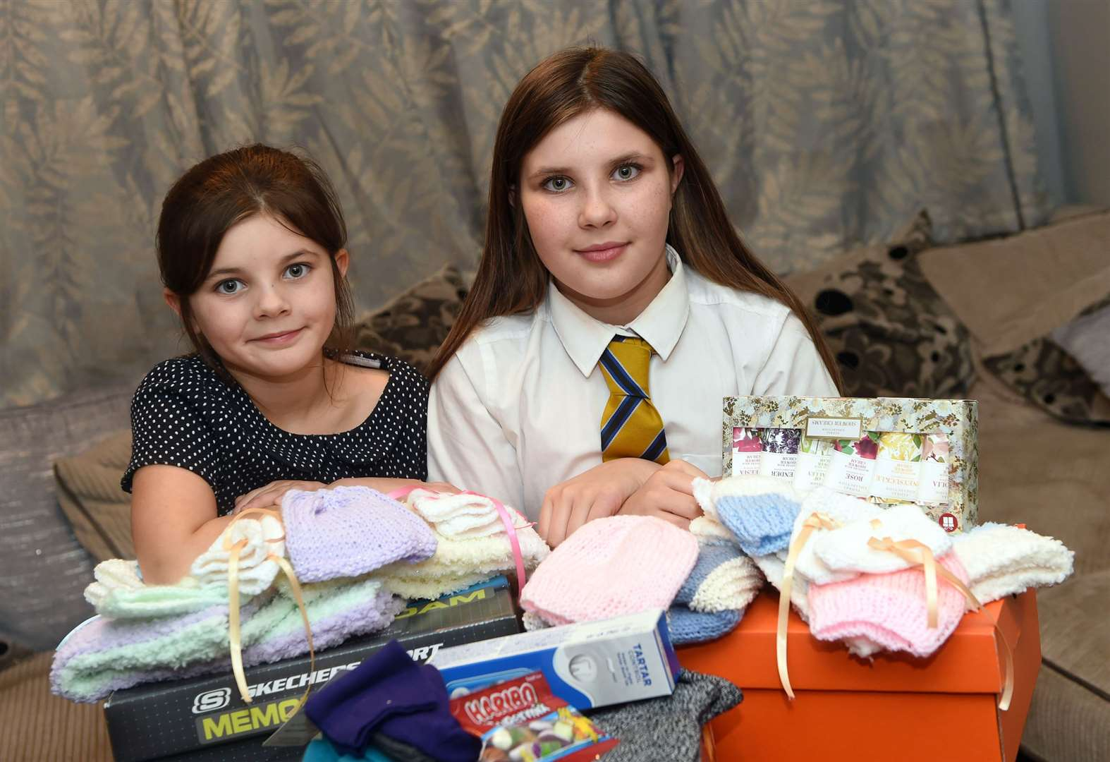 Streetwise pair collect for homeless
