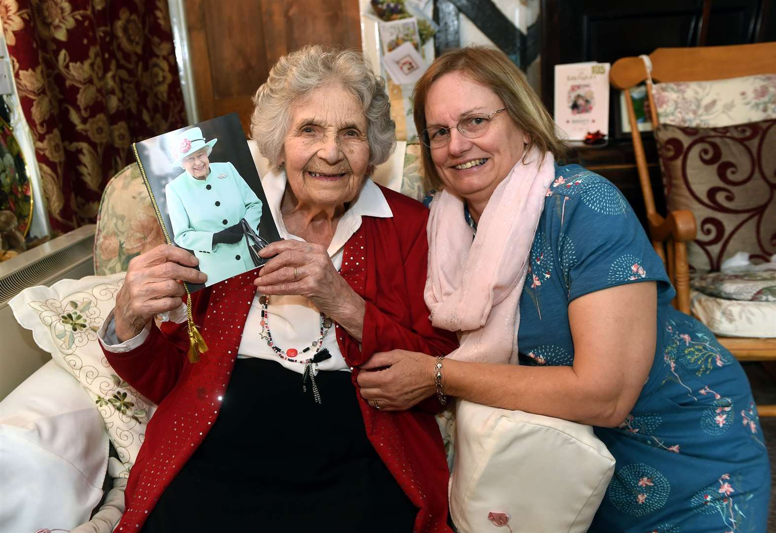 Nora, 105, reveals secret to long and happy life