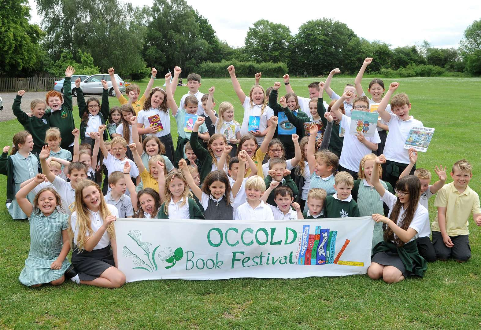 Occold Primary School hosts inaugural book festival