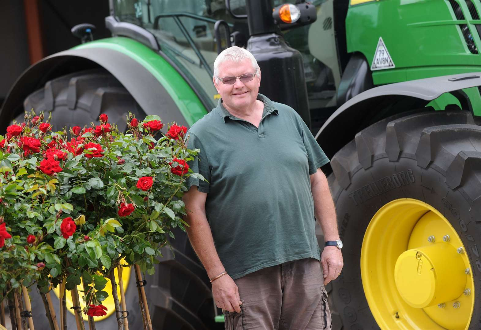 School project blooms into 40 year career growing roses