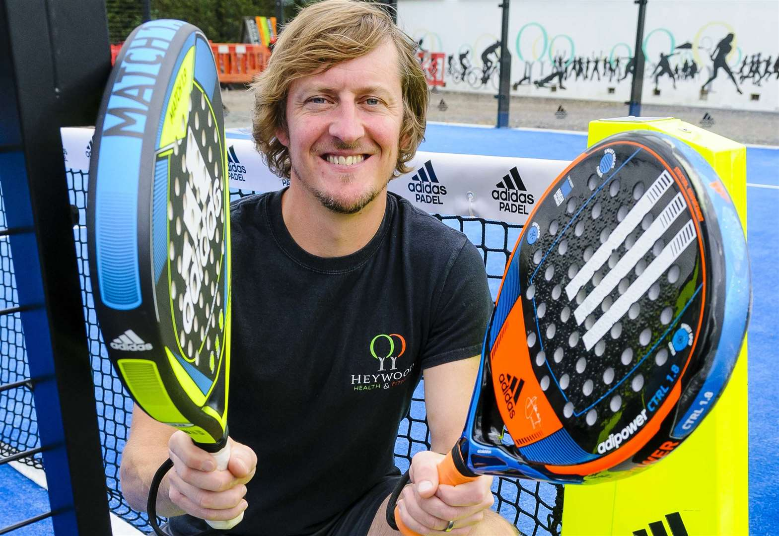 New balls, please, as padel courts open in Diss