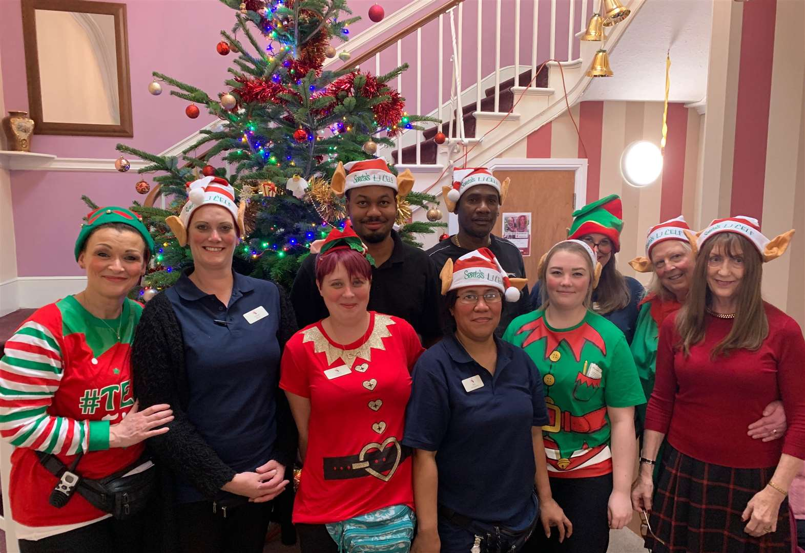 Staff unleash inner elves