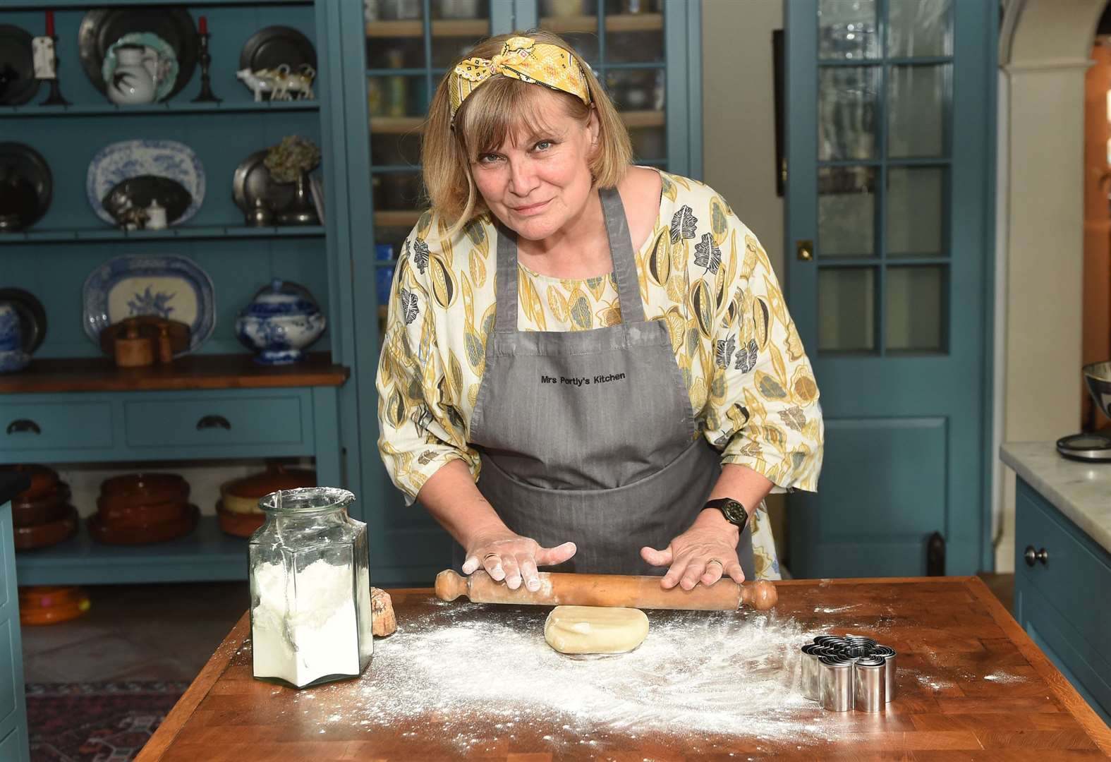 Learn to cook with Mrs Portly in her farmhouse kitchen