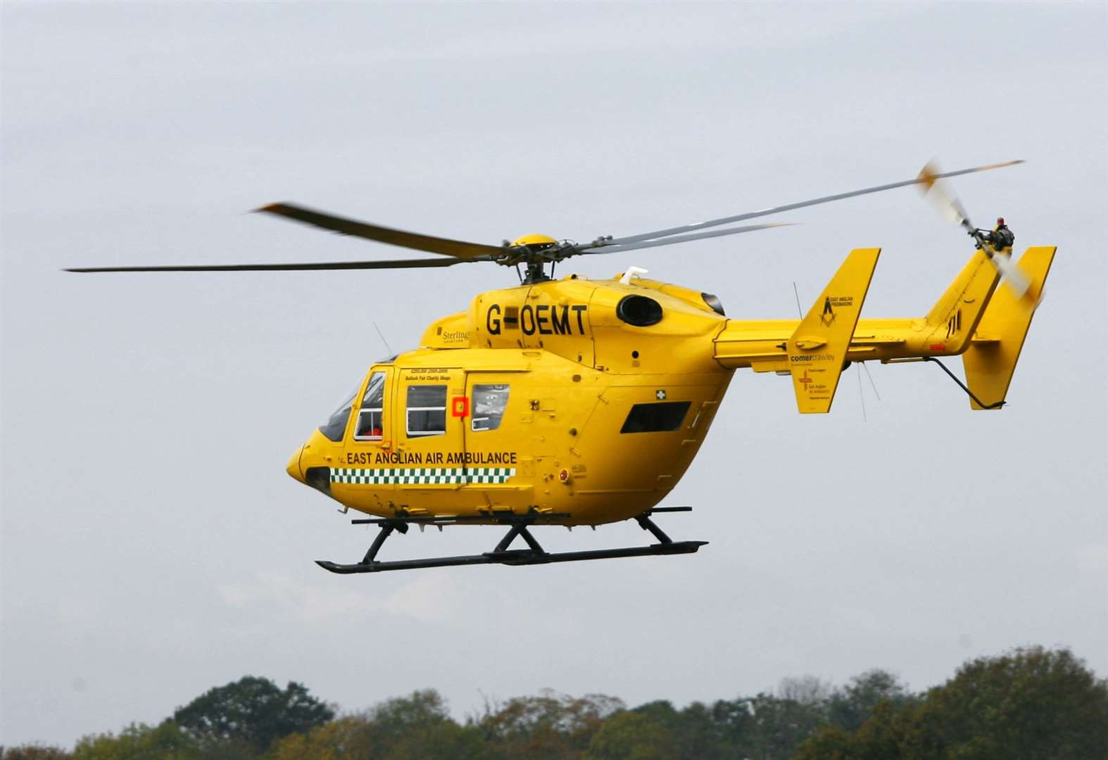 Cyclist airlifted to hospital after lorry crash