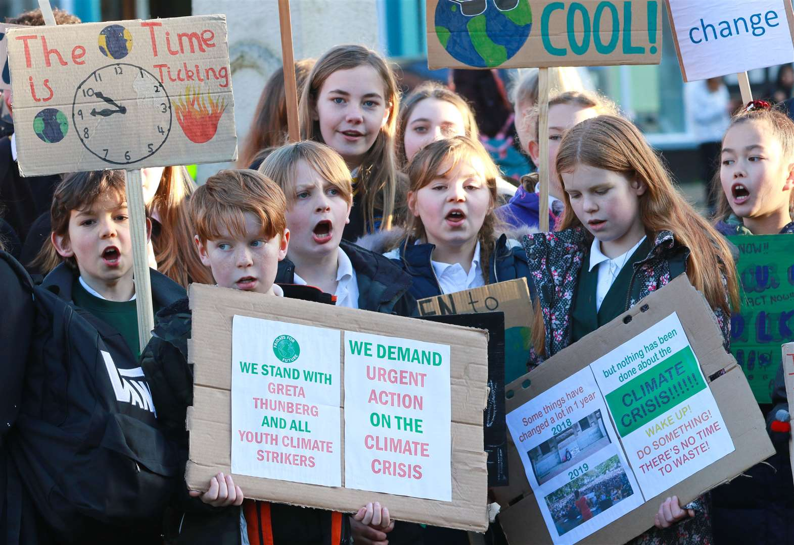 VIDEO: Children call on leaders to take action on climate crisis