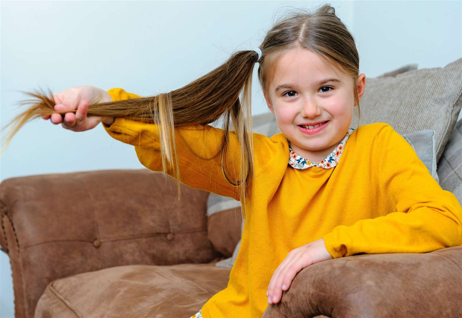 'Rapunzel' set to cut hair for Little Princess Trust