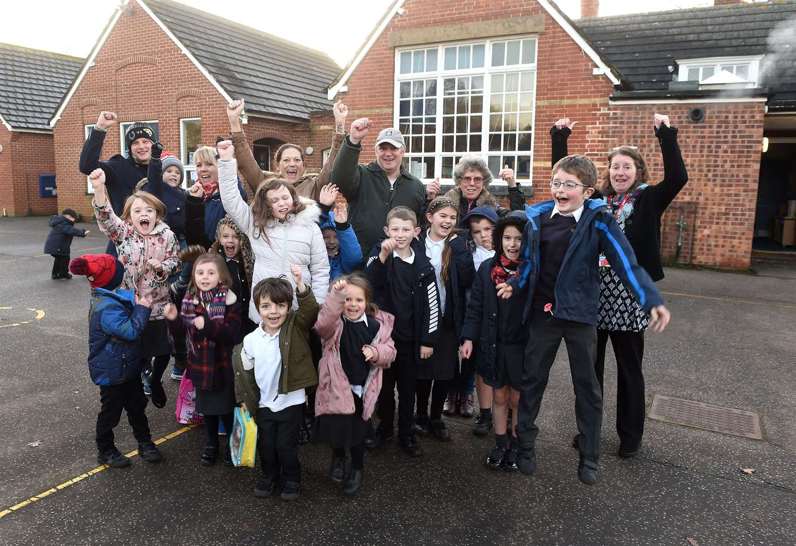 Delight for campaigners as primary school to stay open