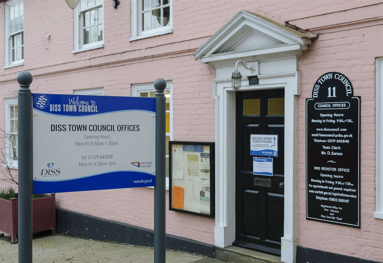 New member for Diss Town Council
