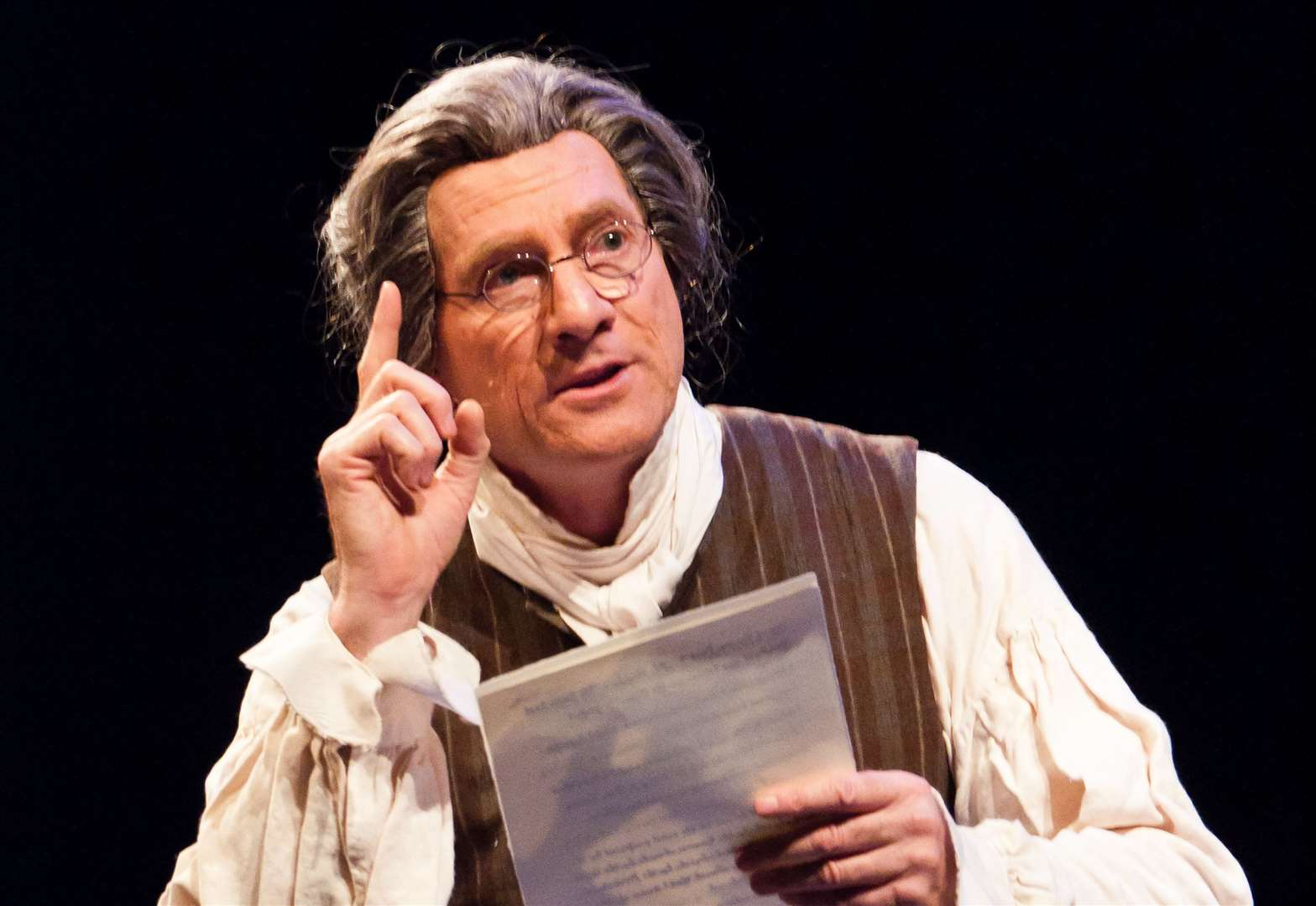 One-man show brings Thomas Paine to life
