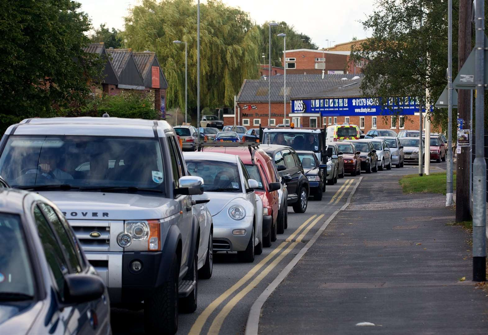 Traffic congestion threatens Diss' future