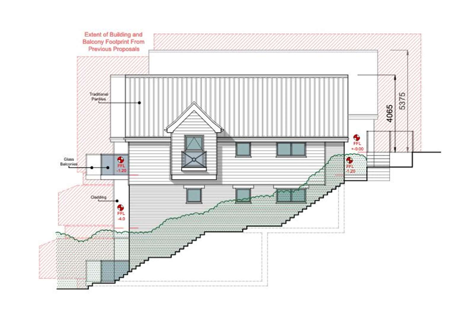 Revised plans submitted for flats overlooking Diss Mere
