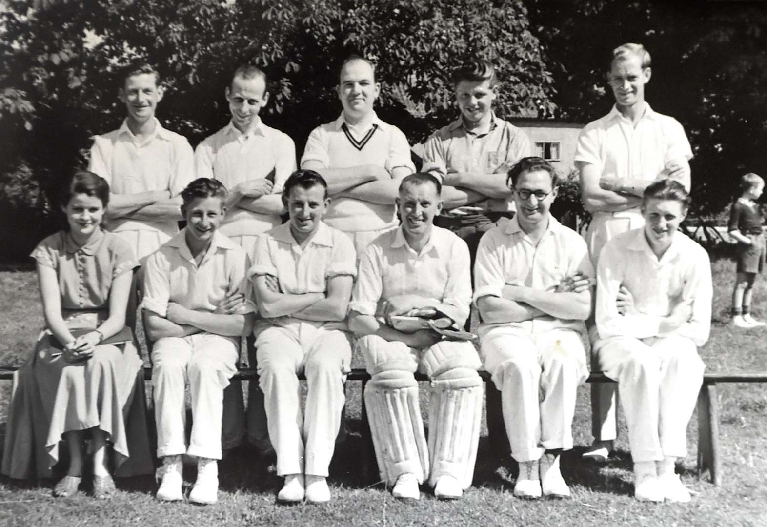 MEMORY LANE: Names of team pictured in 1954 have us stumped
