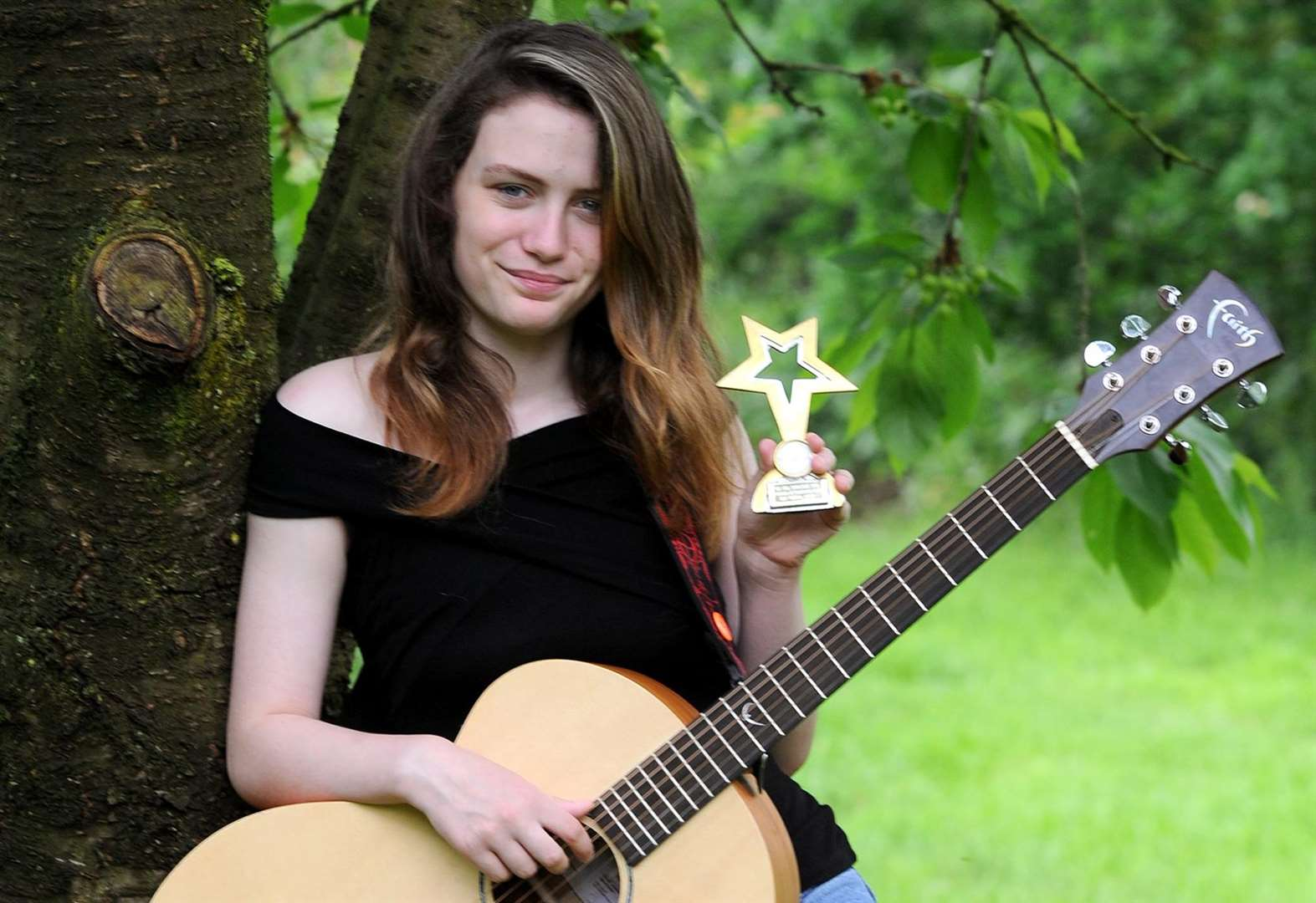 Singer Breeze thrilled to win young artist award