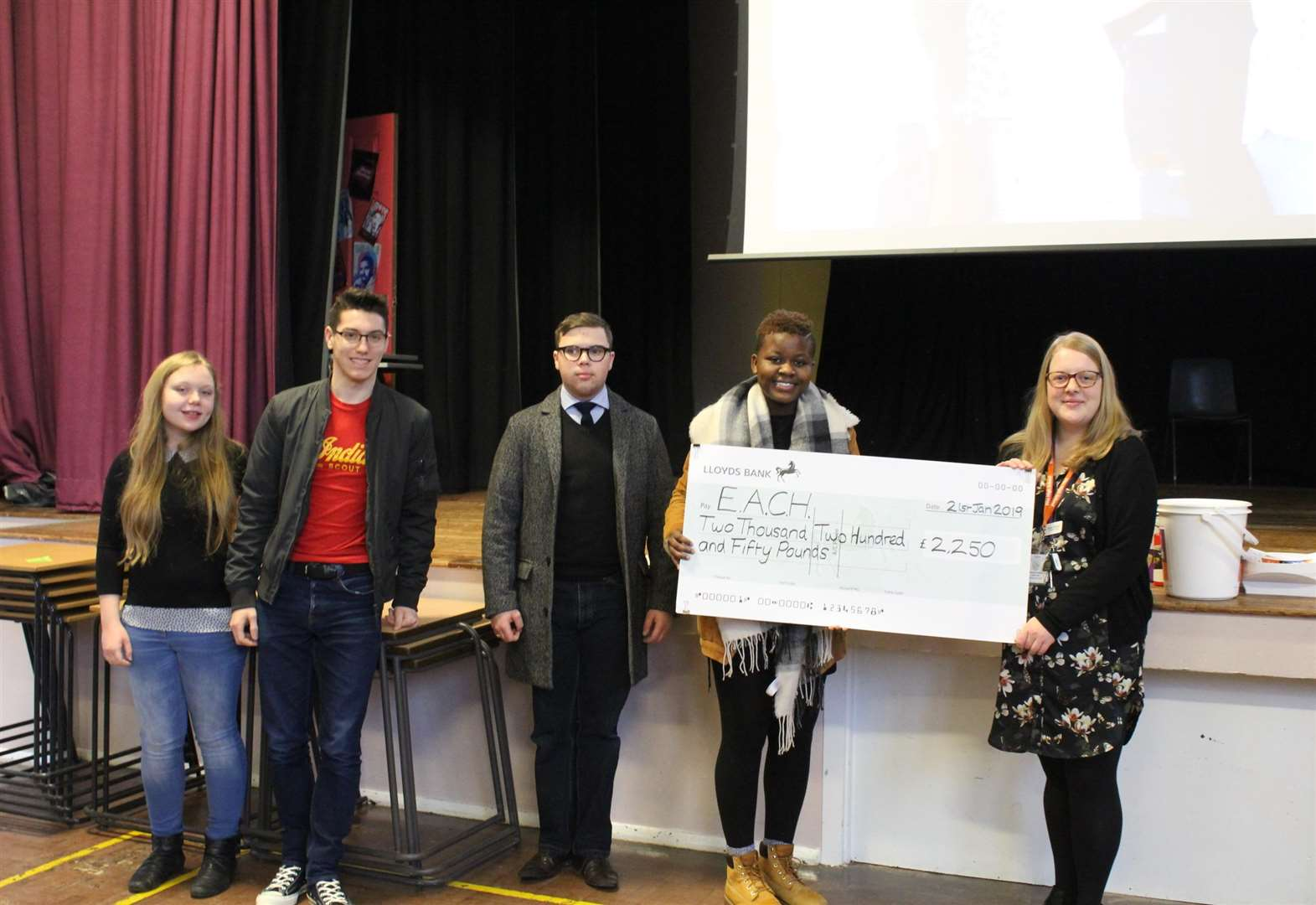 Diss High School's week of events smash £4,500