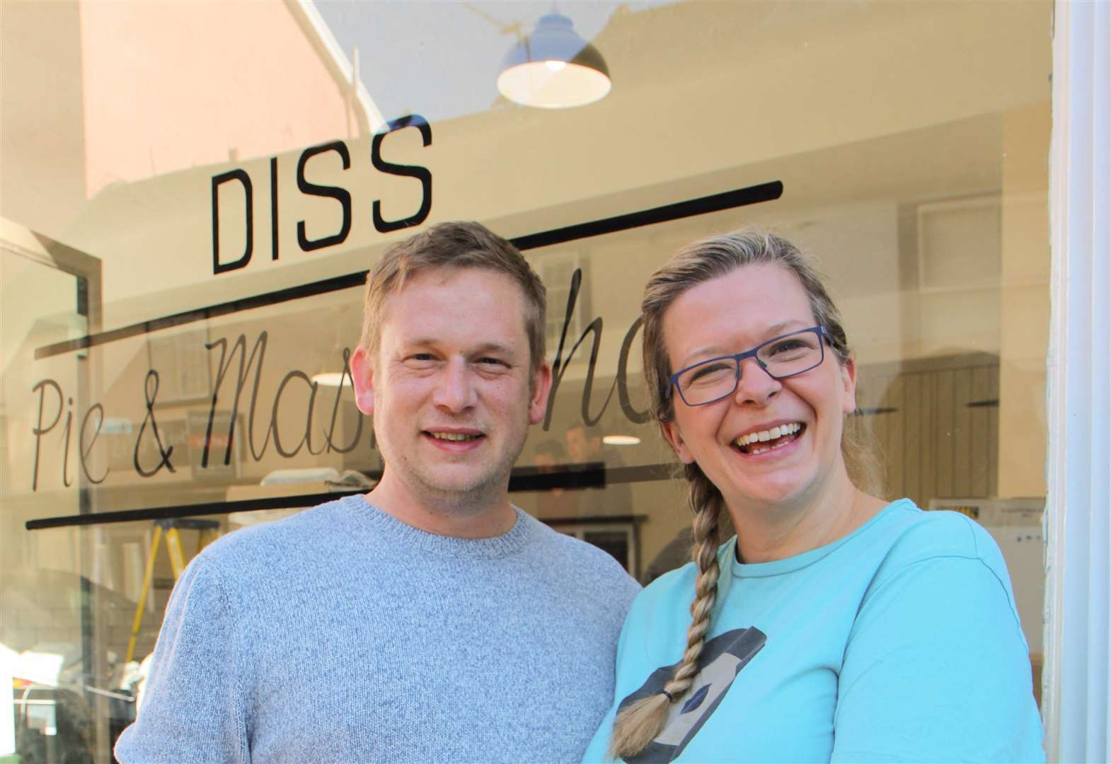 Diss pie and mash shop opens tomorrow