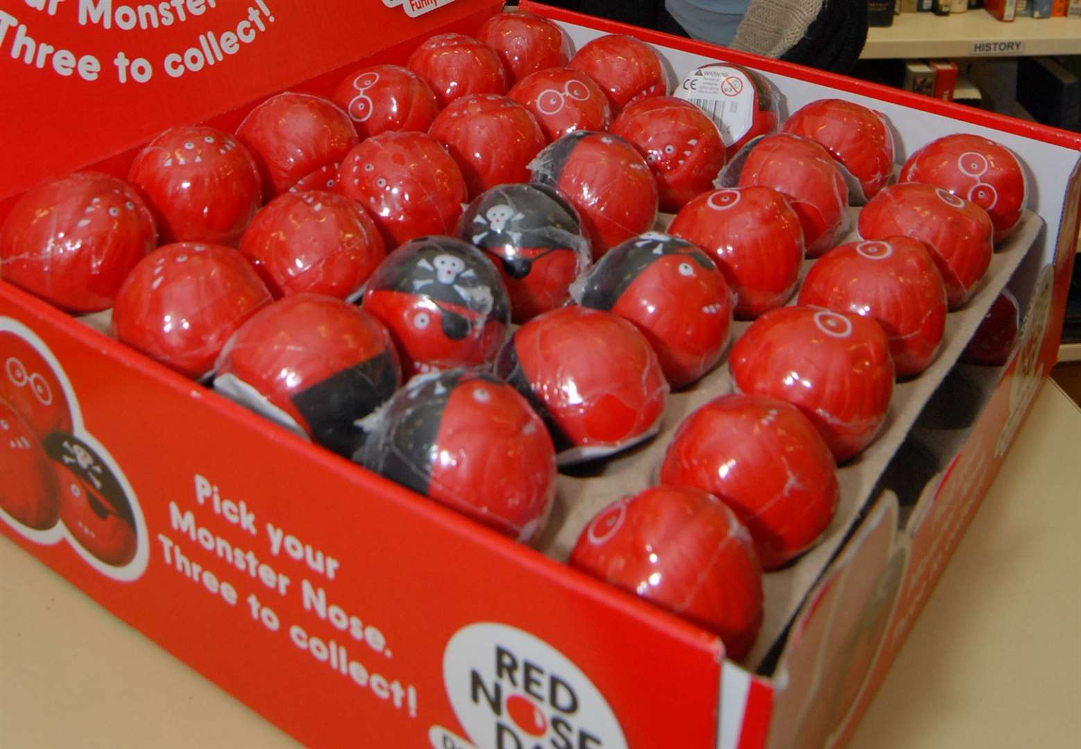 Roydon Primary School will not sell red noses
