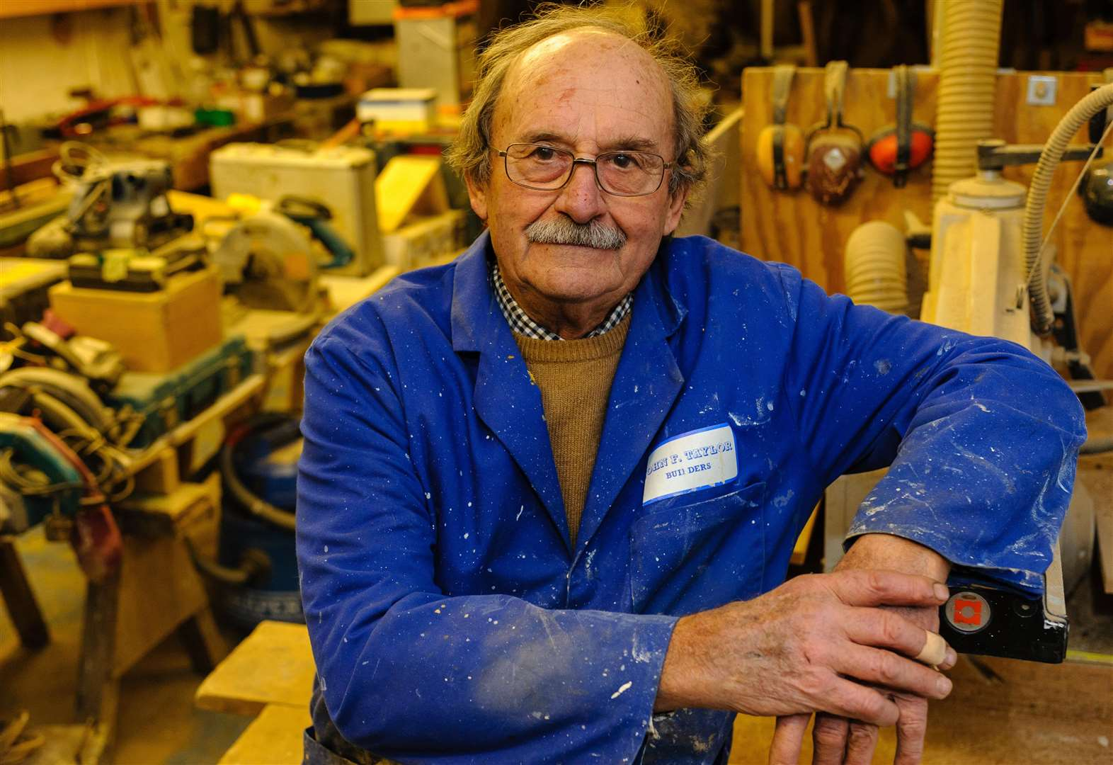 Master builder and skilled craftsman retires, aged 76