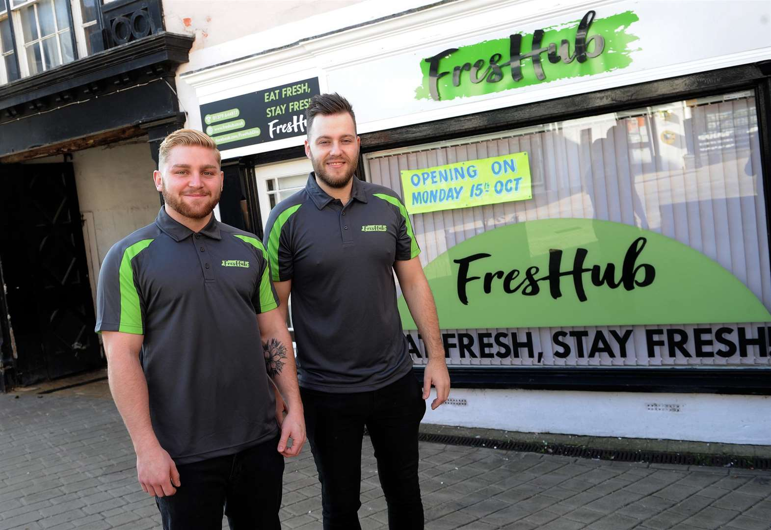Brothers keep it fresh with new health bar in Diss