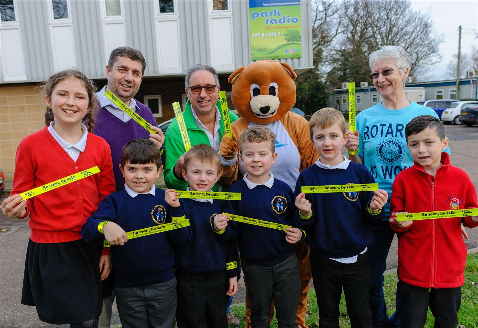 Park Radio broadcasts safety message to schools