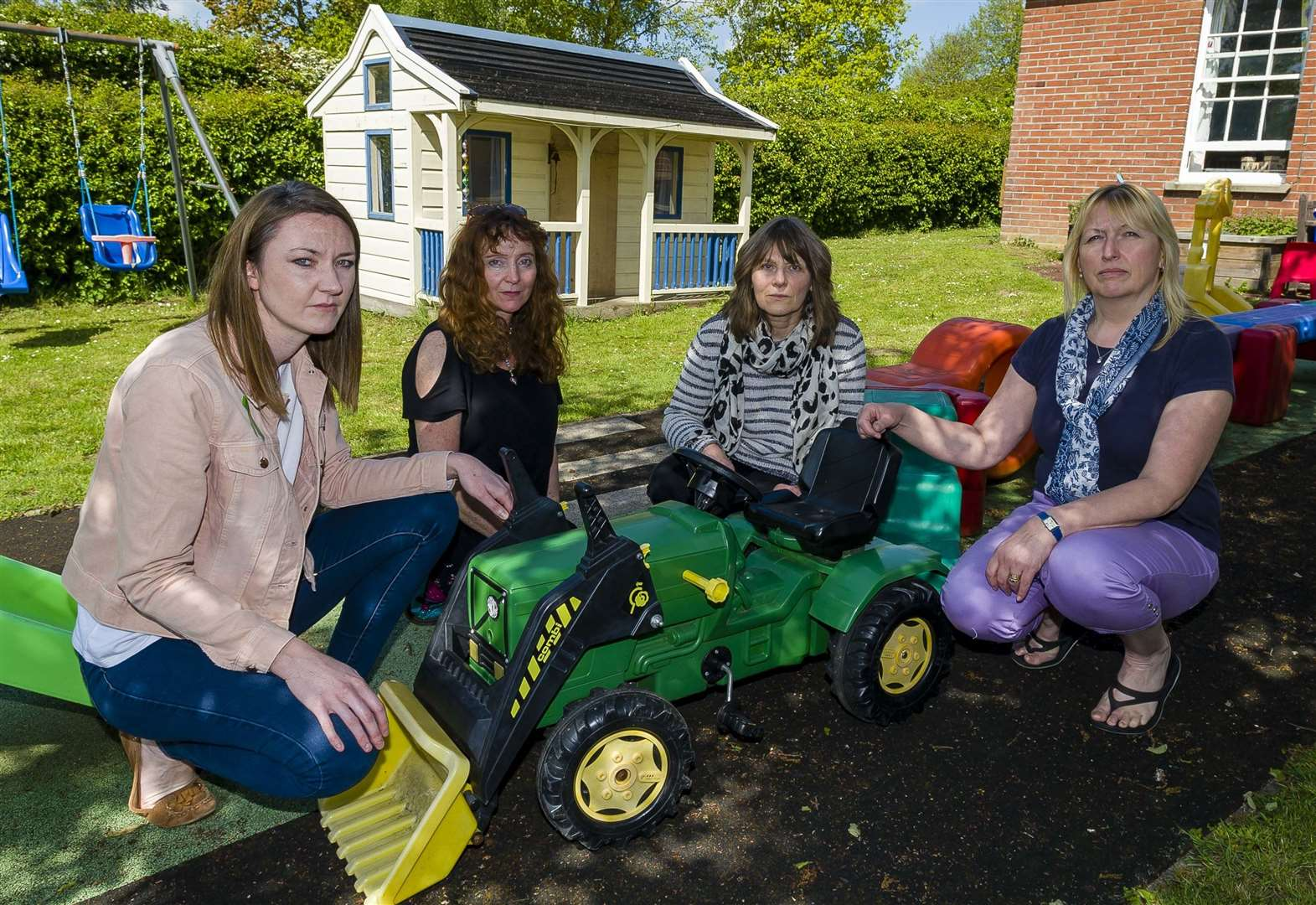 Heartbreak as vandals target playgroup on four occasions