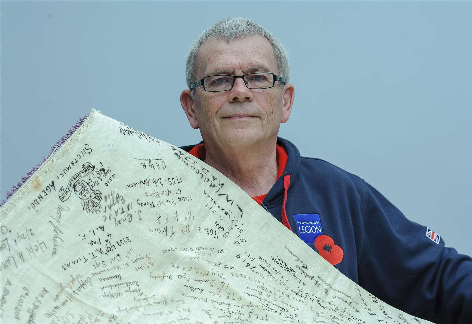 Tablecloth holds the key to Harleston's WWI hospital history