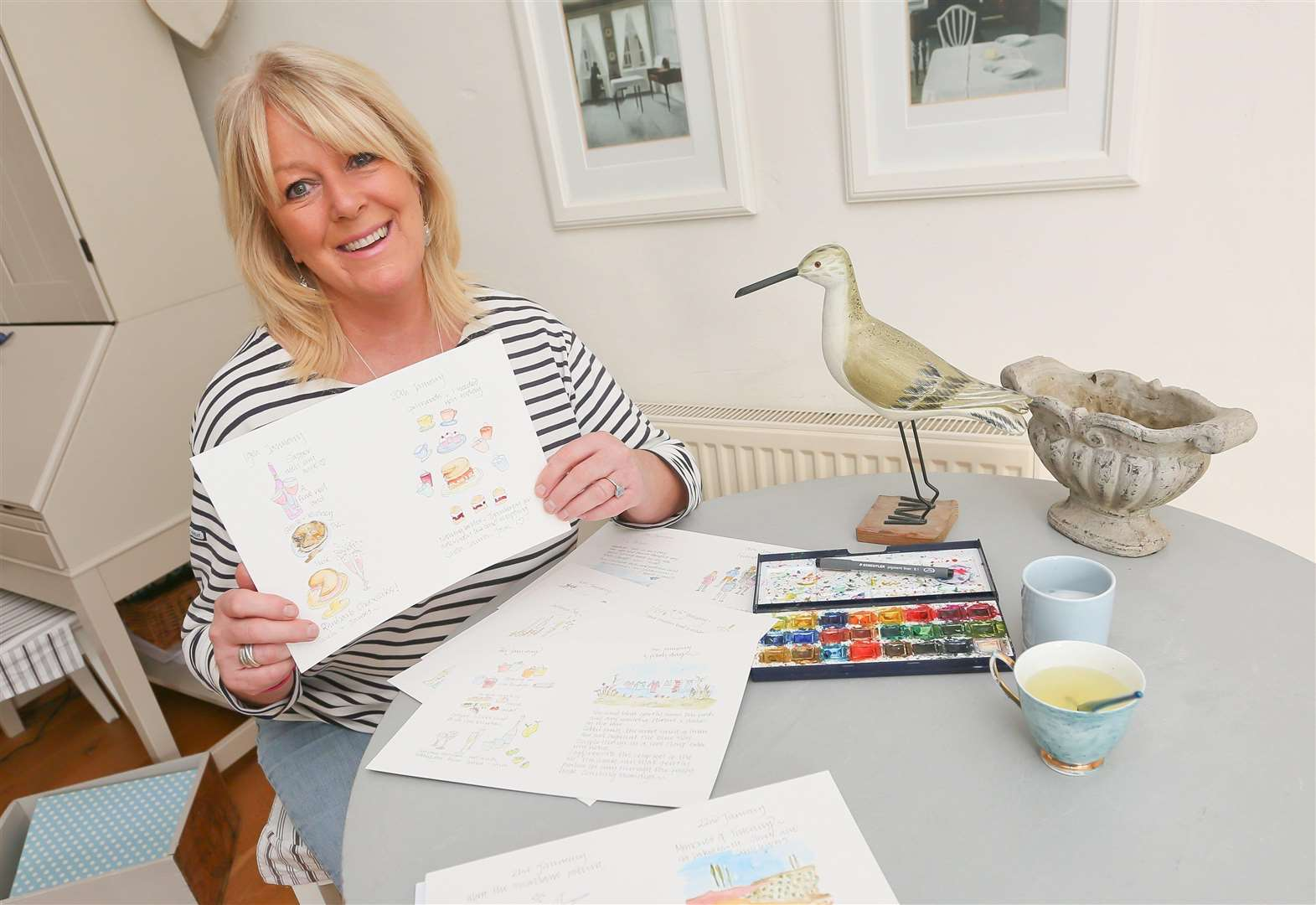 Artist's brush with 365-day challenge raises £4,500