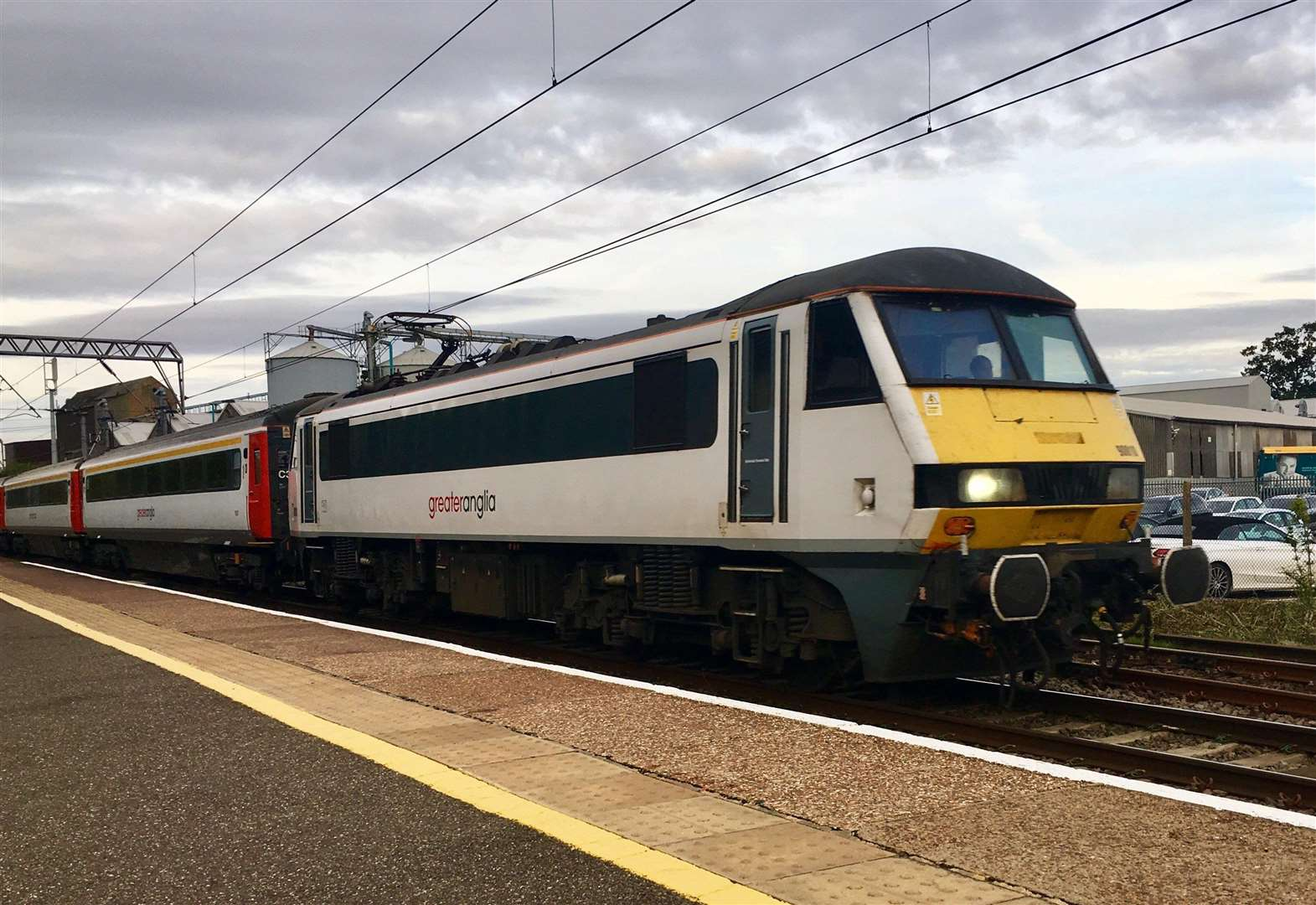 Greater Anglia services to get back on track