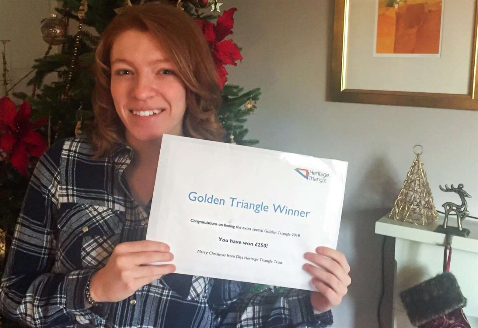 Golden triangle winner scoops the jackpot