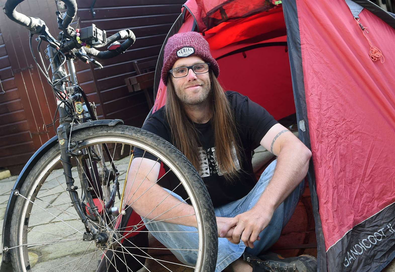 Roydon man completes 4,918-miles tour across North America on his bicycle