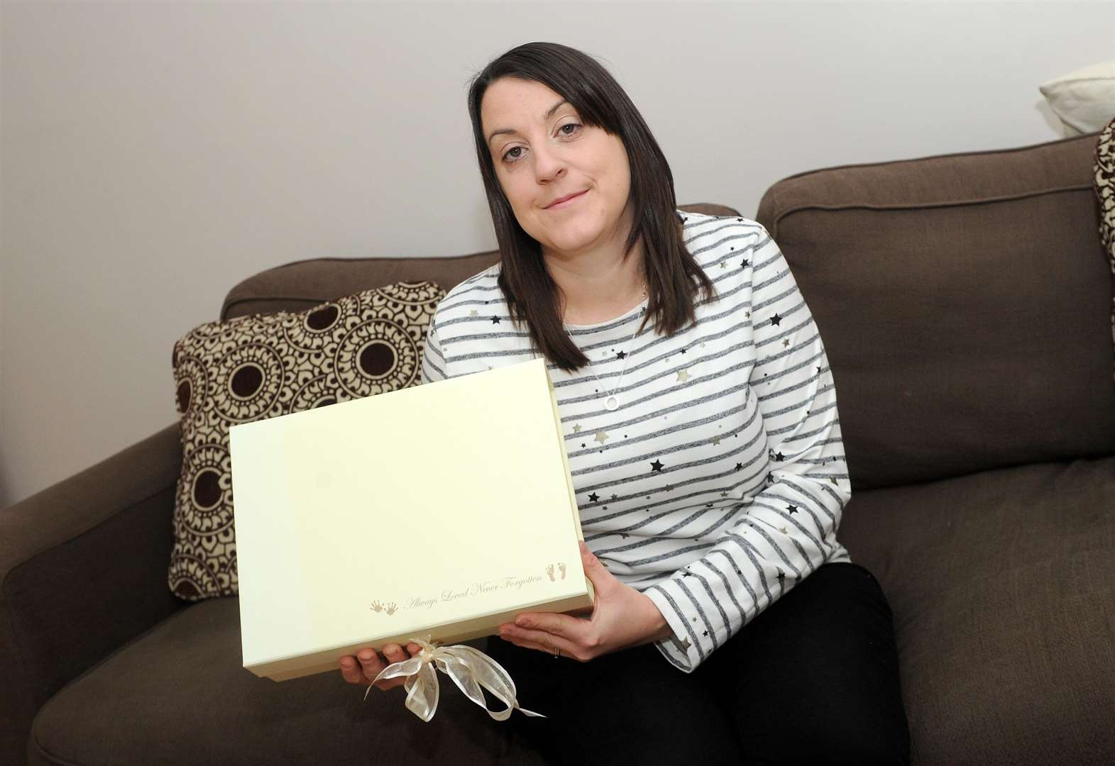 Mum of stillborn channels grief into acts of kindness
