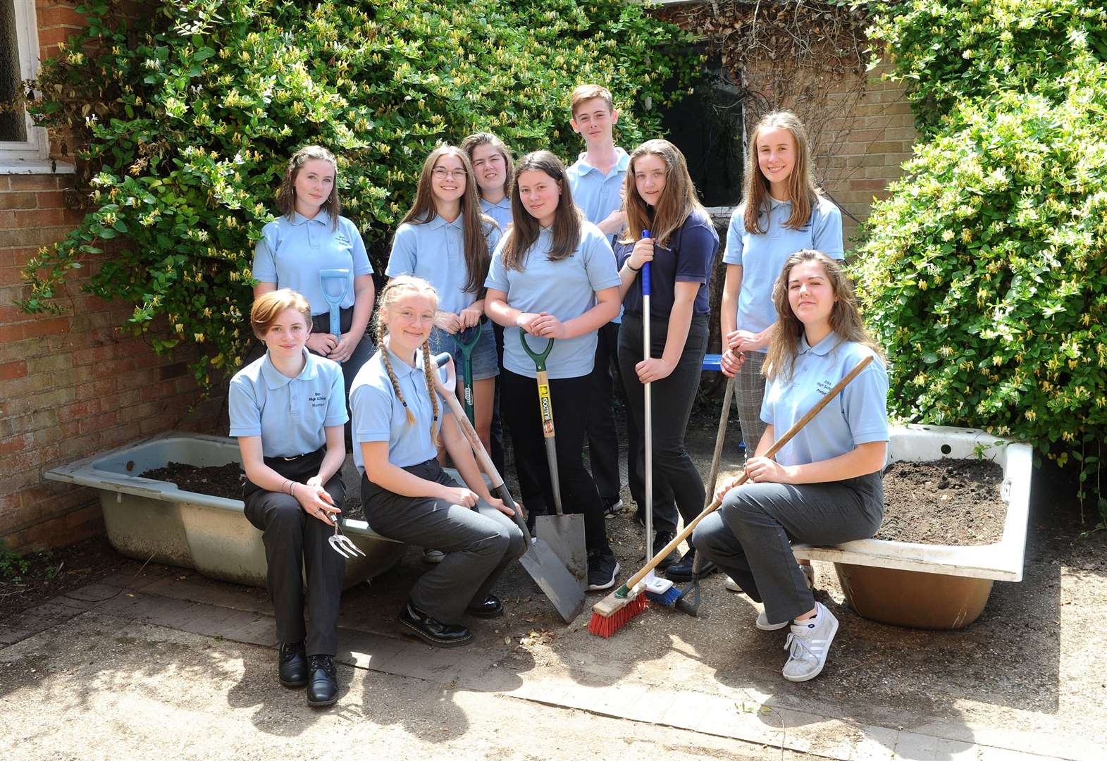 Diss High School students look for better ways to tackle climate change