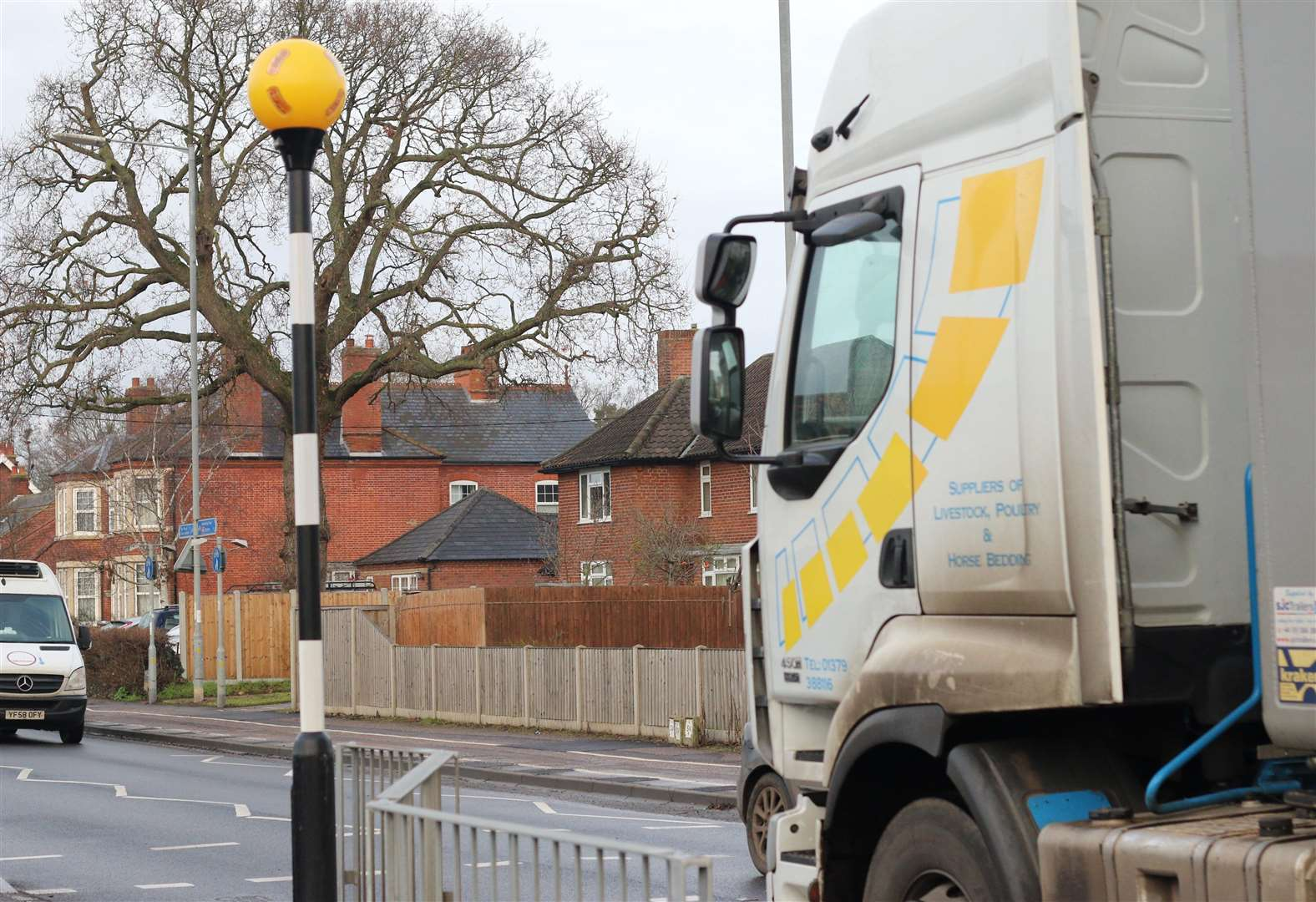 Engineers recalled to new pedestrian crossing in Diss