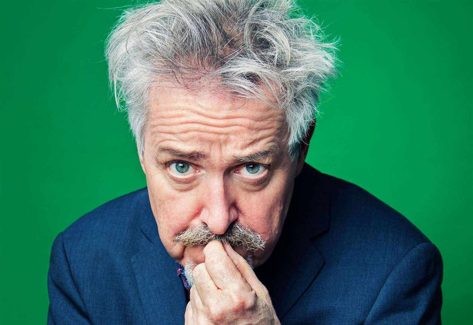 Actor and comedian Griff Rhys Jones' All Over The Place in Diss