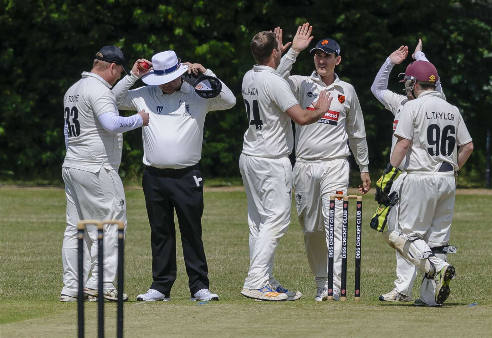 Diss looking to build following first victory