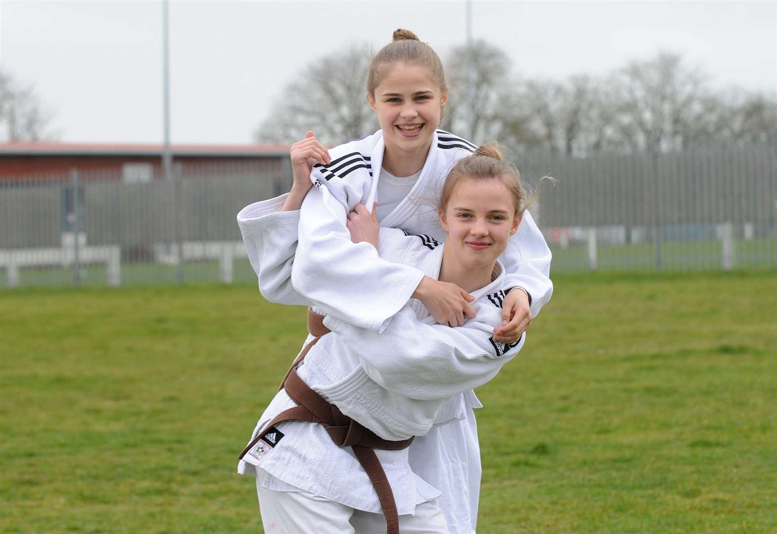 Southgate sisters pick up medals from the national competition