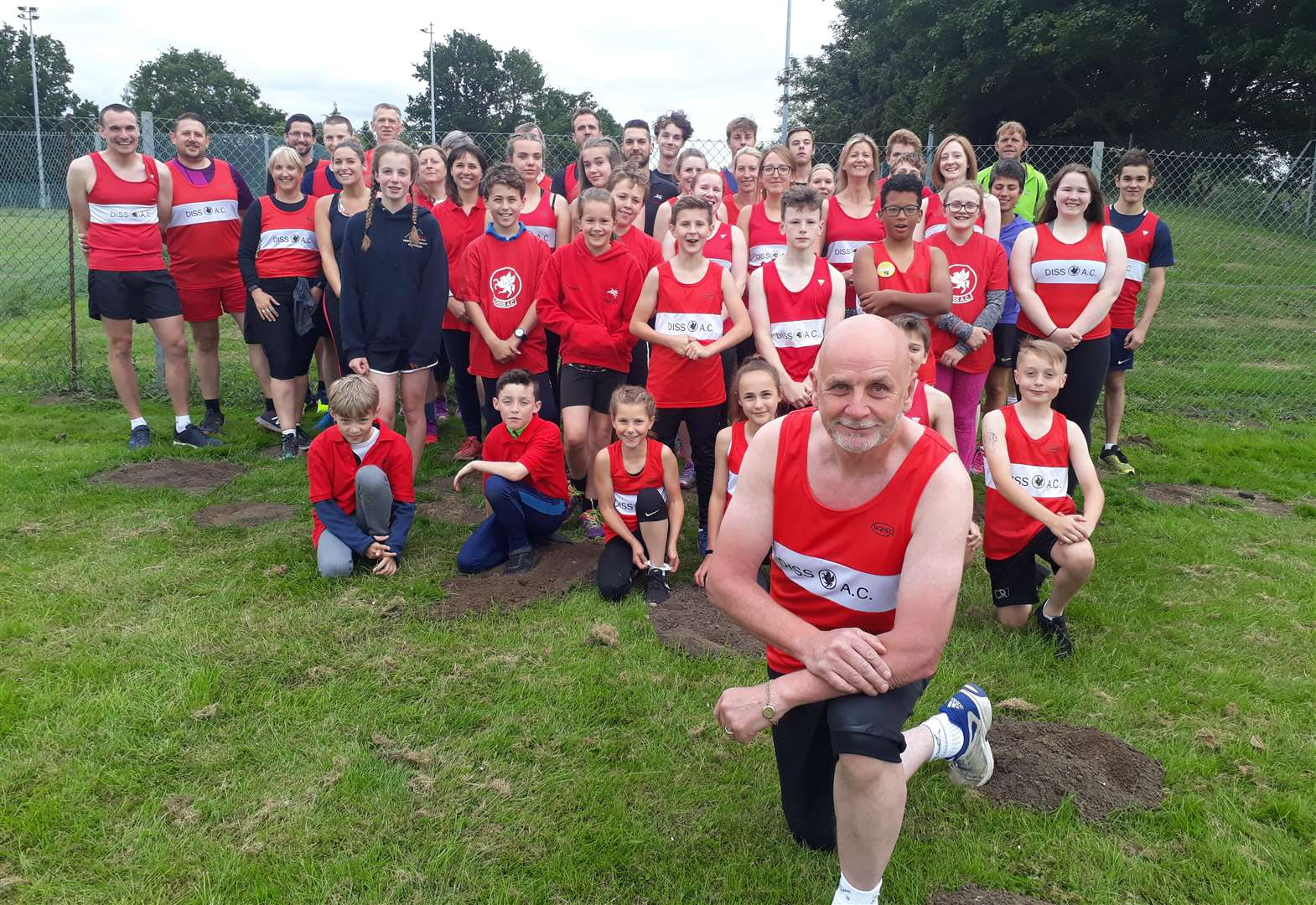 Stroke victim encourages others to take up athletics