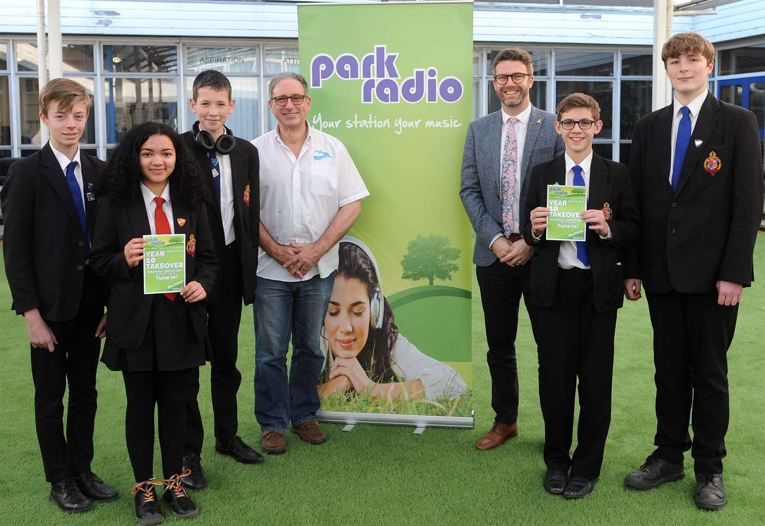 Students take to the air waves