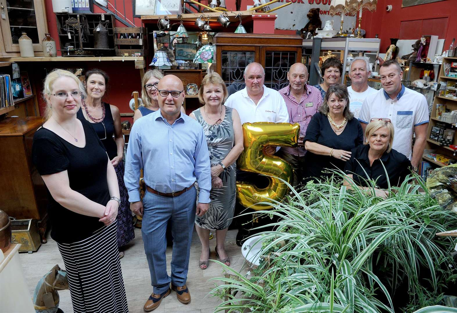 Harleston antique and vintage centre celebrates five successful years