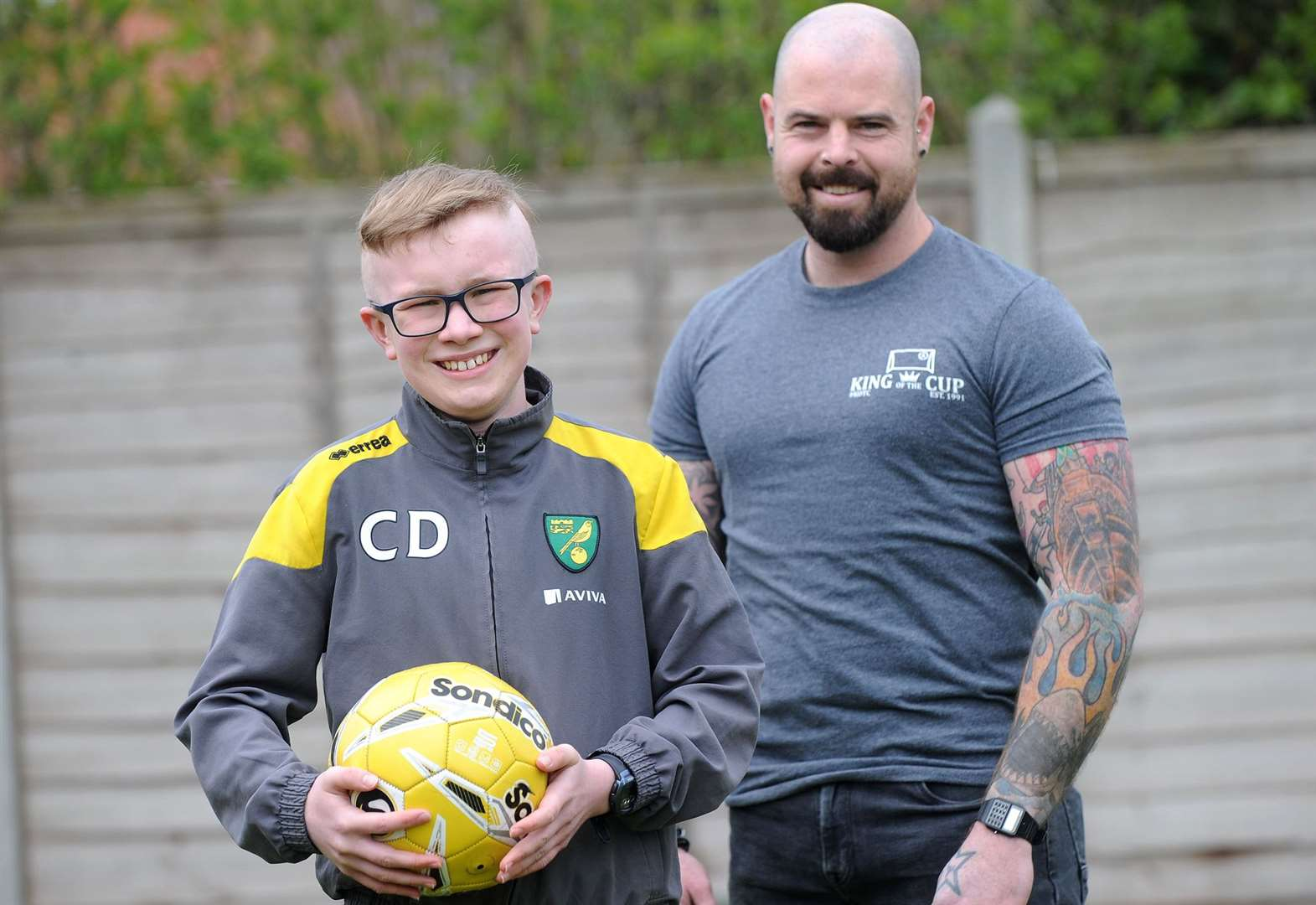 Mum humbled by event's support for sick Callum